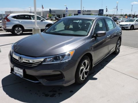 New 2016 Honda Accord LX FWD 4D Sedan