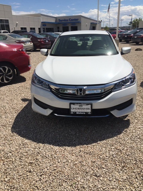 New 2016 Honda Accord LX