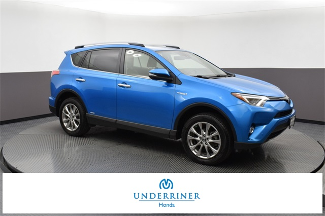 Pre Owned 2017 Toyota Rav4 Hybrid Limited 4d Sport Utility In